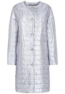 Серебристое пальто Elema