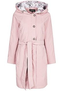 Розовый плащ с капюшоном La Reine Blanche