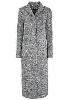 Полушерстяное удлиненное пальто La Reine Blanche