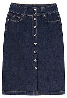 Синяя джинсовая юбка Mossmore