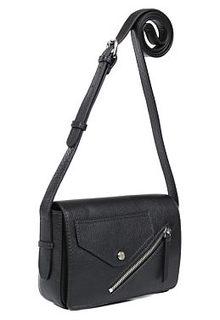 Кожаная сумка с кармашком Palio