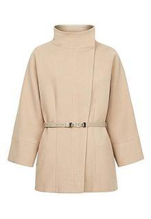 Короткое пальто с поясом Acasta