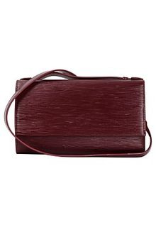 Кожаная сумка-клатч La Reine Blanche