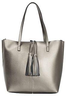 Кожаная сумка-шоппер La Reine Blanche