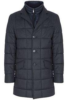Удлиненная куртка на синтепоне Madzerini