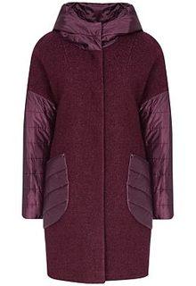 Утепленное шерстяное пальто Electrastyle