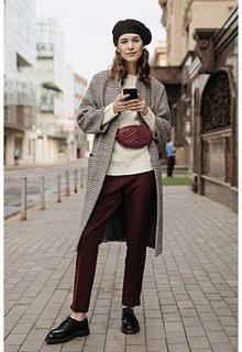 Зауженные брюки La Reine Blanche
