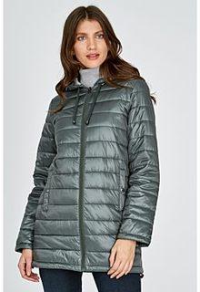 Удлиненная стеганая куртка Neohit
