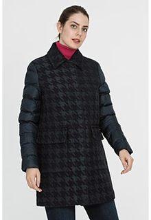 Комбинированное утепленное пальто Madzerini