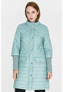 Утепленная куртка с комбинированными рукавами La Reine Blanche