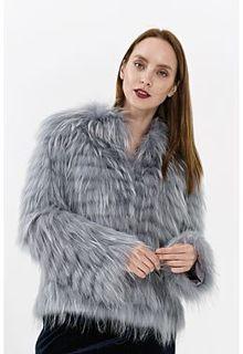 Короткая шуба из меха енота Virtuale Fur Collection