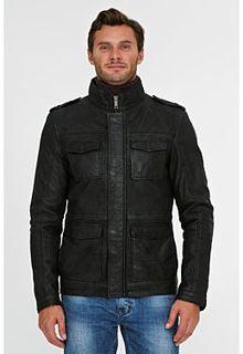 Утепленная кожаная куртка Urban Fashion for men