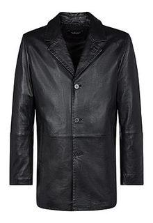 Утепленная куртка из натуральной кожи Al Franco