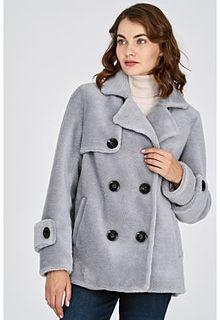 Короткая шуба из вязаной овчины Virtuale Fur Collection