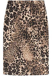 Юбка леопардовой расцветки La Reine Blanche