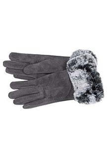Текстильные перчатки с меховой отделкой Sophie Ramage
