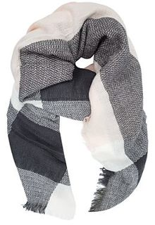 Полушерстяной платок Fabretti