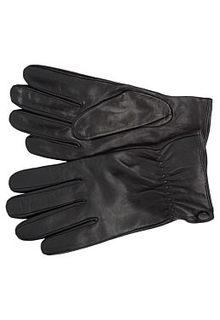 Перчатки из натуральной кожи Eleganzza