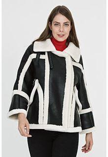 Короткая дубленка с отделкой Virtuale Fur Collection