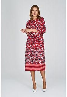 Платье с принтом Tom Tailor