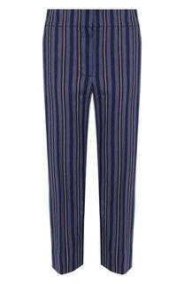 Укороченные брюки прямого кроя в полоску Burberry