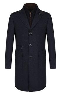 Однобортное шерстяное пальто с подстежкой L.B.M. 1911