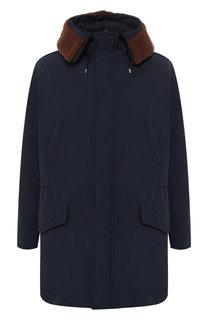 Куртка на молнии с капюшоном Pal Zileri