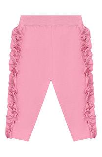 Хлопковые брюки Monnalisa