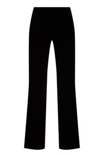 Расклешенные бархатные брюки Gucci