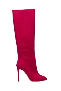Сапоги Brera Boot 105 цвета фуксия Aquazzura
