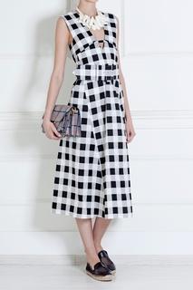 Платье из нейлона и шелка Derek Lam