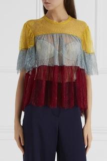 Цветная блузка из кружева Philosophy di Lorenzo Serafini