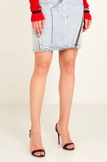 Джинсовая юбка с асимметричной молнией 3.1 Phillip Lim