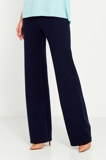 Свободные темно-синие брюки Amina Rubinacci