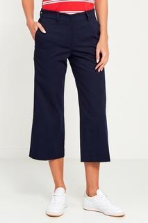Широкие синие брюки Amina Rubinacci