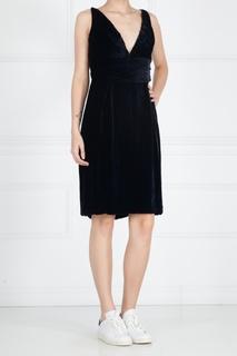 Платье из вискозы и шелка Maurizio Pecoraro