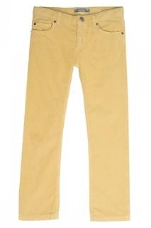 Желтые брюки в рубчик Dylan Bonpoint
