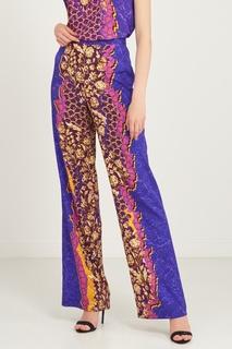 Широкие брюки с ярким принтом Peter Pilotto