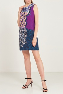 Платье с комбинированным принтом Peter Pilotto