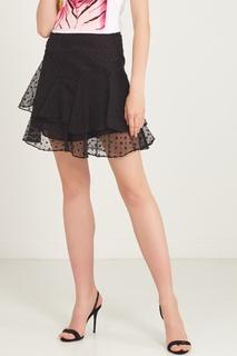 Черная юбка из органзы Isabel Marant