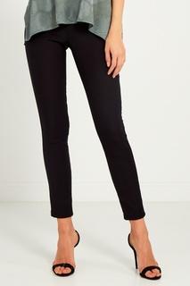 Черные брюки-стрейч Lanvin