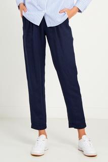 Льняные брюки с завязками Mila Marsel