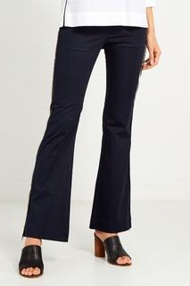 Черные брюки из хлопка Mila Marsel