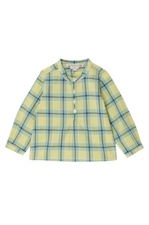 Рубашка в цветную клетку Bonpoint