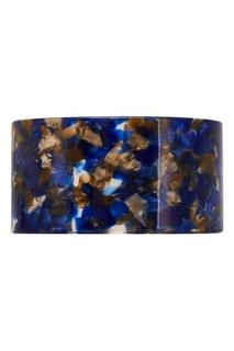 Широкий синий браслет Aloud