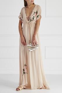 Шелковое платье Hoss Intropia