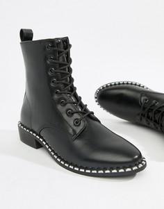 Ботинки на шнуровке Park Lane - Черный