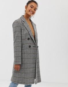 Пальто в клетку Miss Selfridge - Мульти