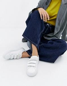 Кроссовки на липучках с логотипом HUGO - Белый