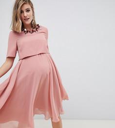 Платье миди ASOS DESIGN Maternity - Мульти